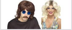1960s and 1970s Wigs