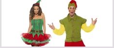 Elf Fancy Dress Costumes