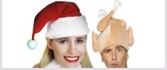 Santa Hats & Headwear