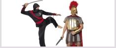 Warrior Fancy Dress Costumes
