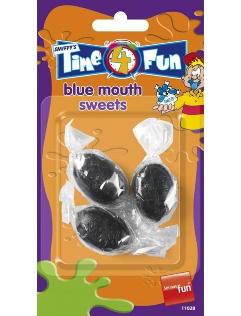 Blue Mouth Sweets, Time 4 Fun