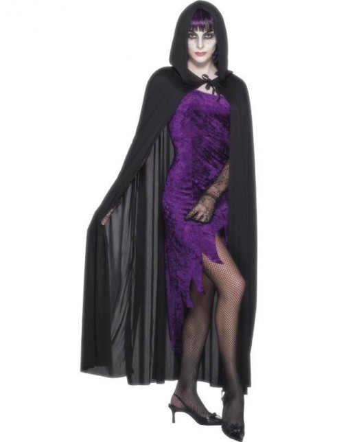 Hooded Vampire Halloween Cape