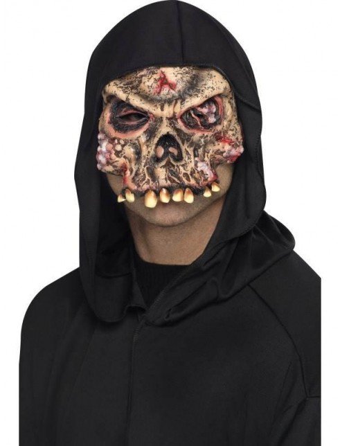 Zombie Skeleton Half Face Mask