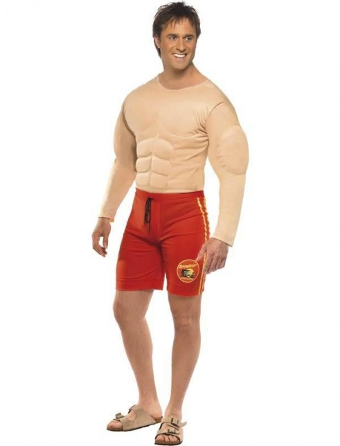525418e17b Mens Baywatch Lifeguard Costume | Fancy Dress Castle