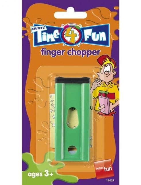 Finger Chopper, Trick