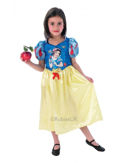 Girls Storytime Snow White Classic Costume