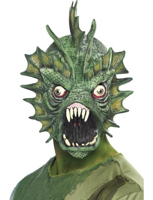 Swamp Monster Mask