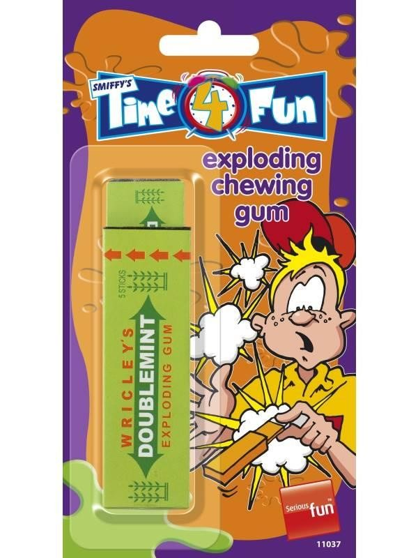 Chewing Gum, Exploding