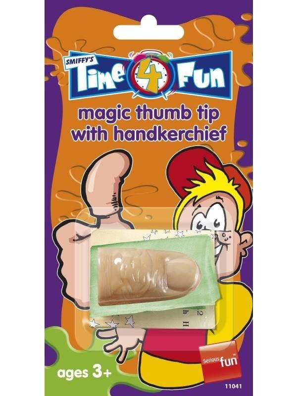 Magic Thumb Tip, with Handkerchief