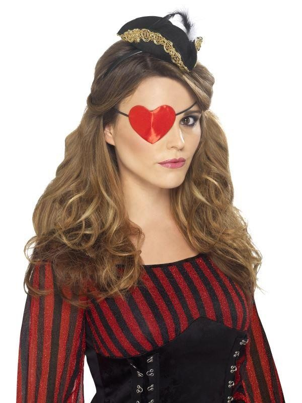 Pirate Heart Shaped Eyepatch