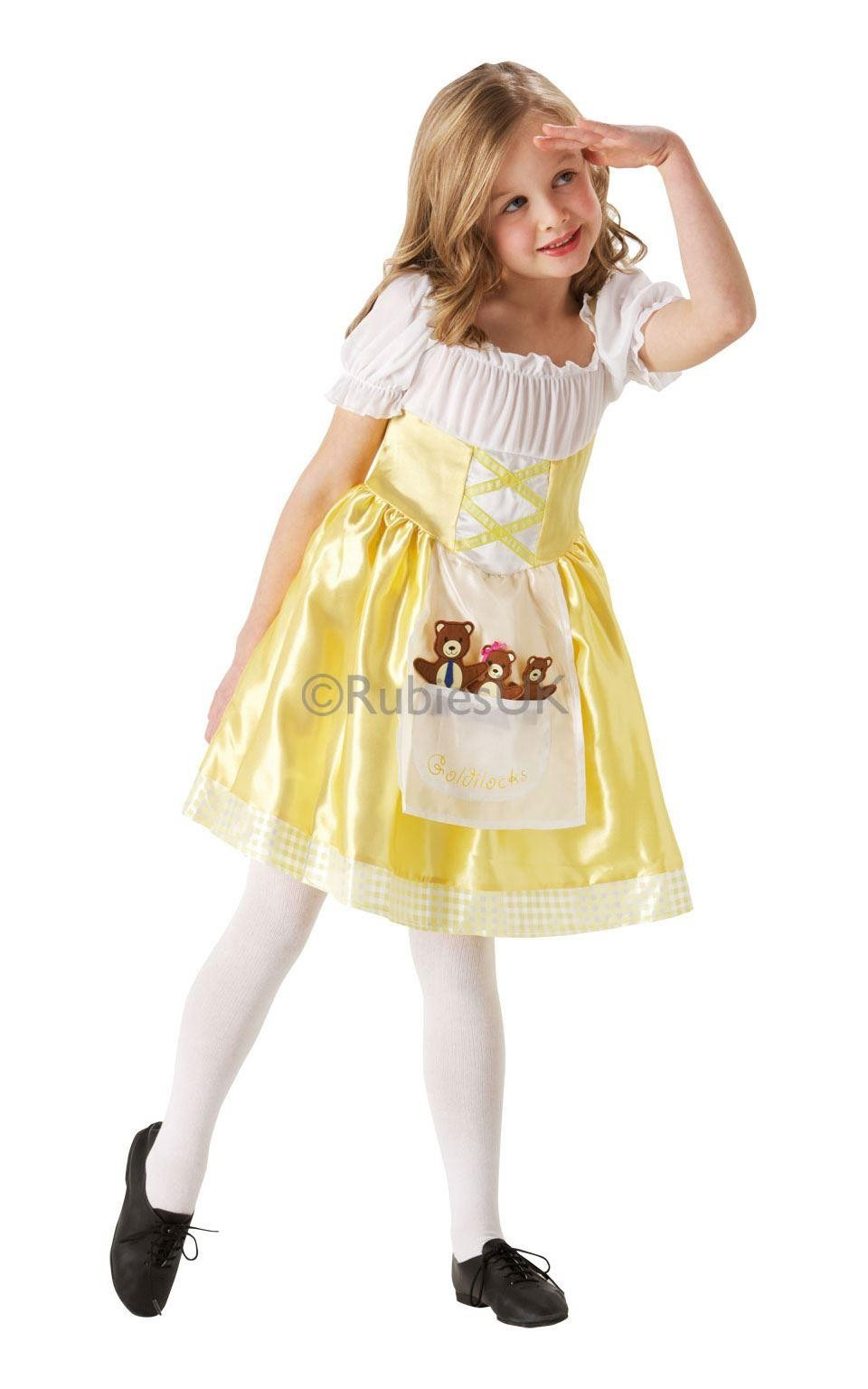 Girls Goldilocks Costume