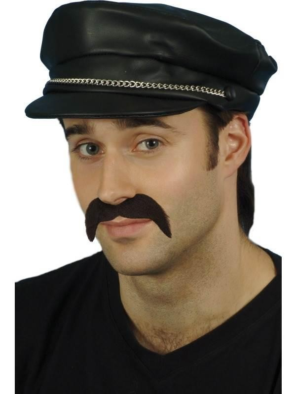 PVC Biker Cap