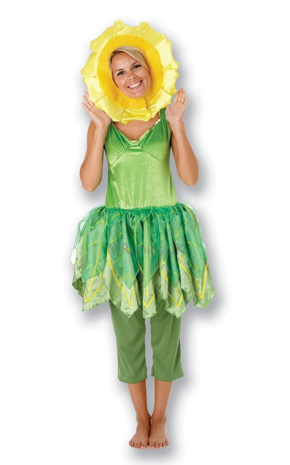 Ladies Little Weed Flower Pot Men Costume