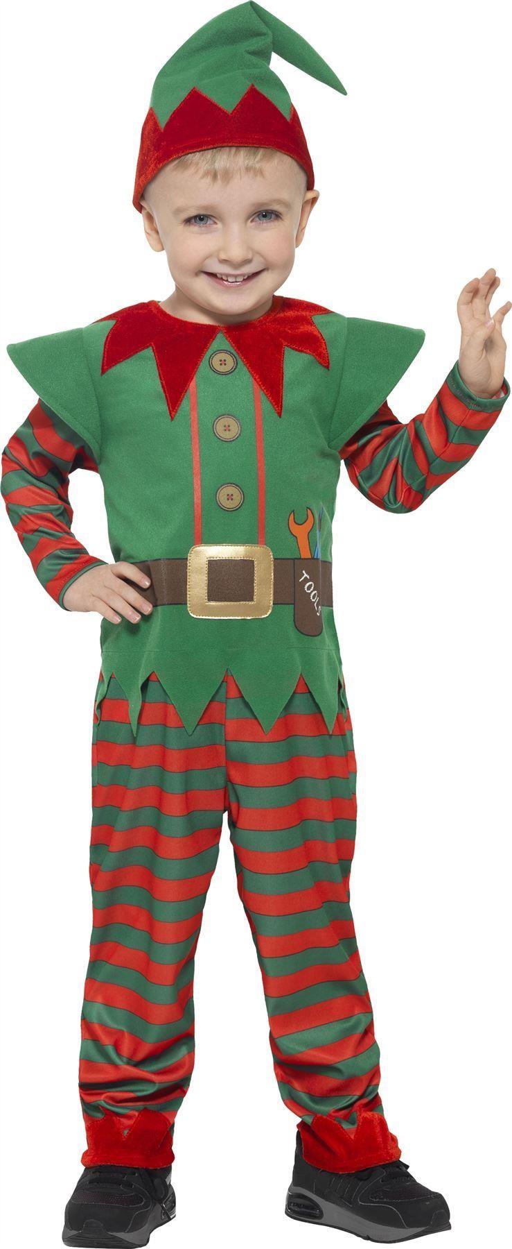 Toddlers Elf Costume