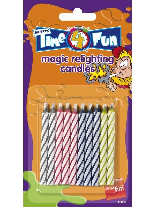 Magic Relighting Candles, Time 4 Fun