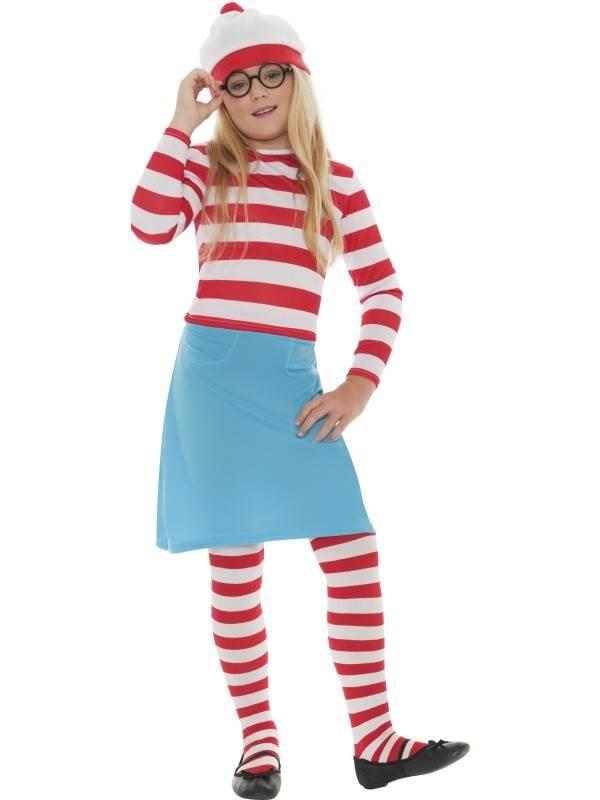 Where's Wally? Wenda Child Costume