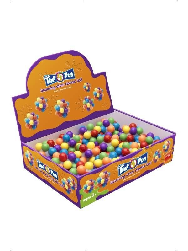 Bouncing Atom Clacker Ball, 65 mm