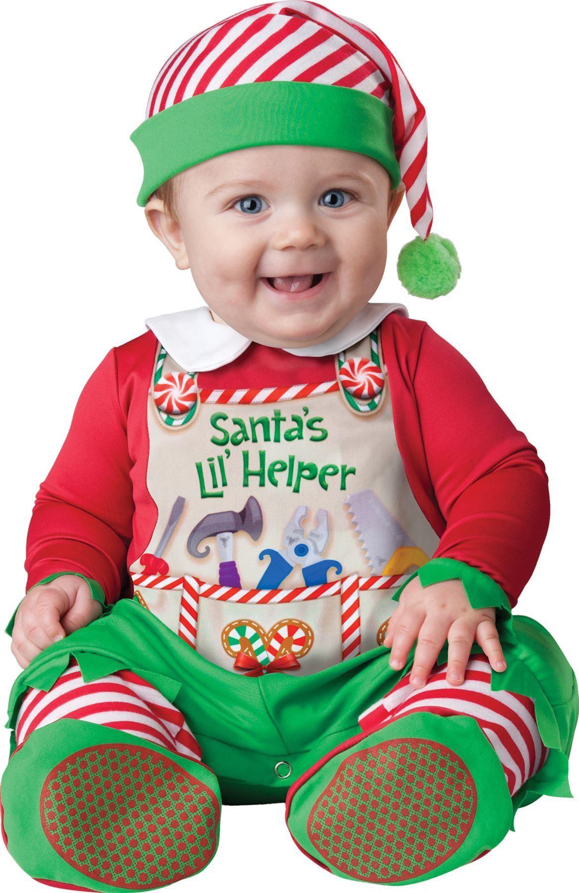 Baby Santa's Little Helper Elf Costume