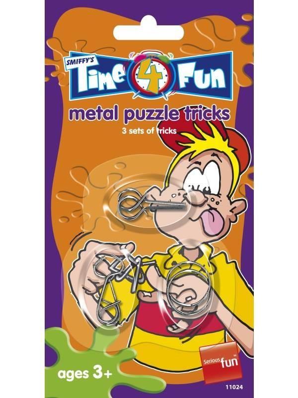 Metal Puzzle Tricks