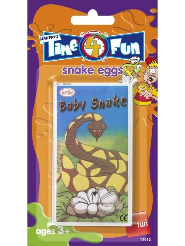 Snake Egg Joke in Envelope