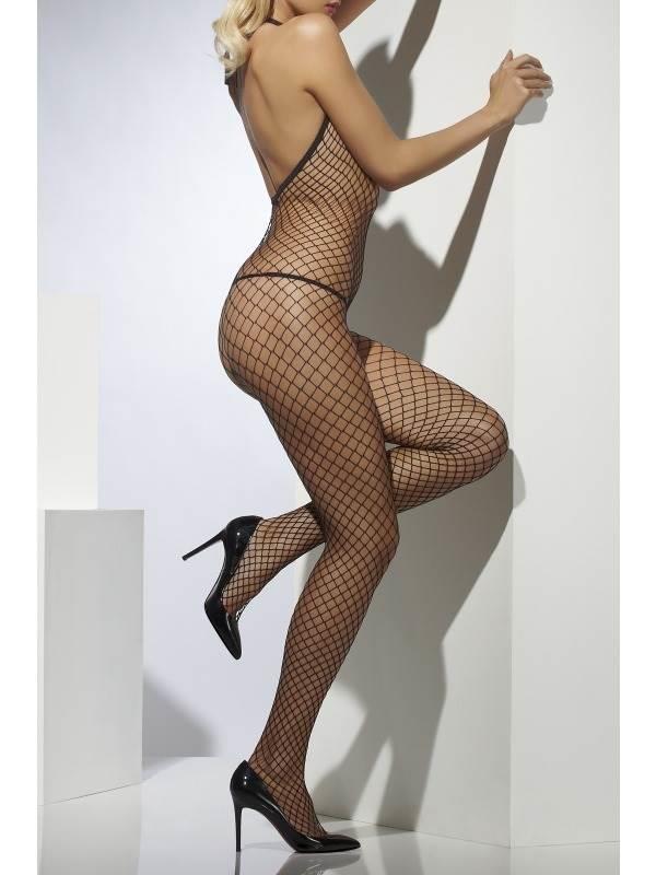 Lattice Net Body Stocking