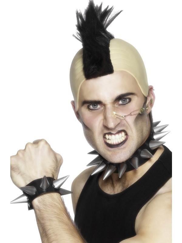 Punk Choker and Wristband