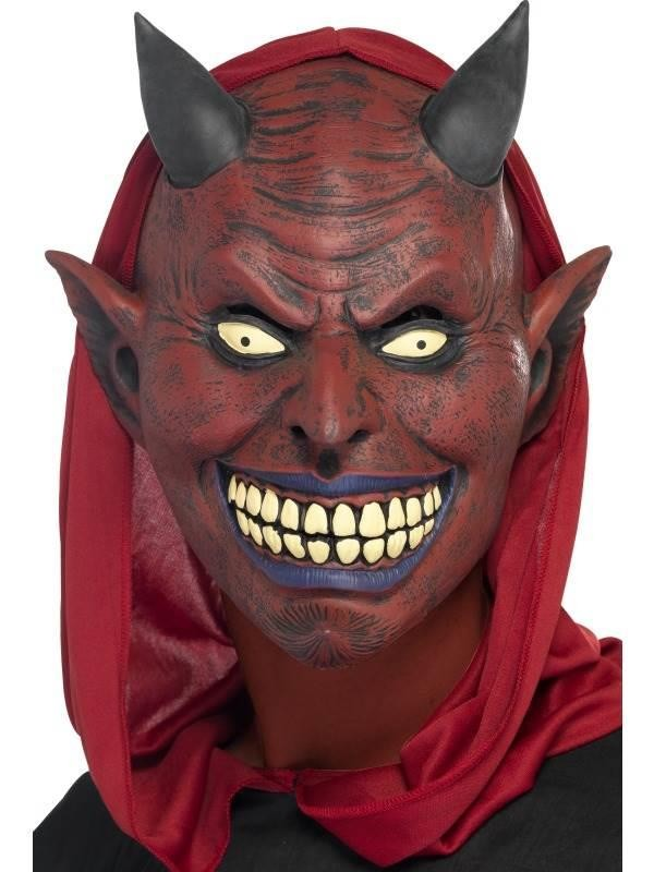 Demon Devil Full Overhead Mask