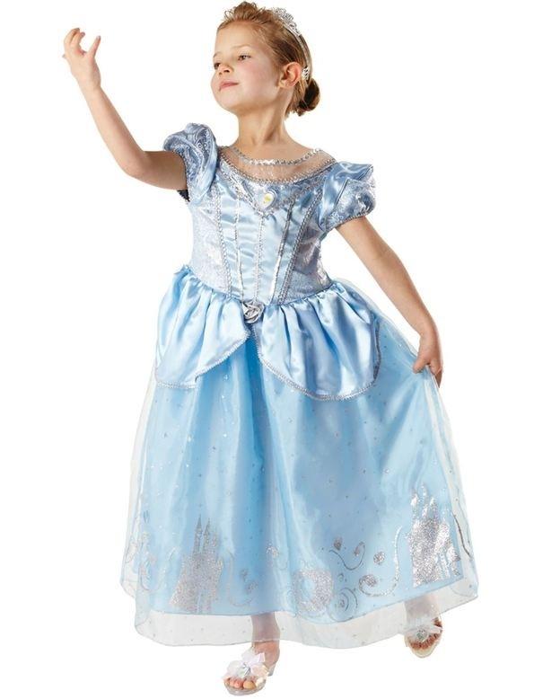 Girls Anniversary Cinderella Costume