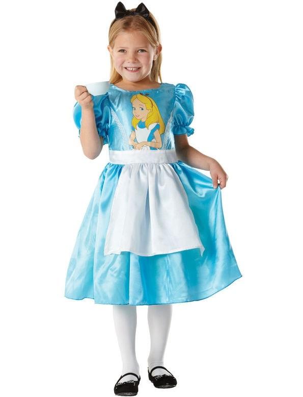 Girls Classic Alice in Wonderland Costume