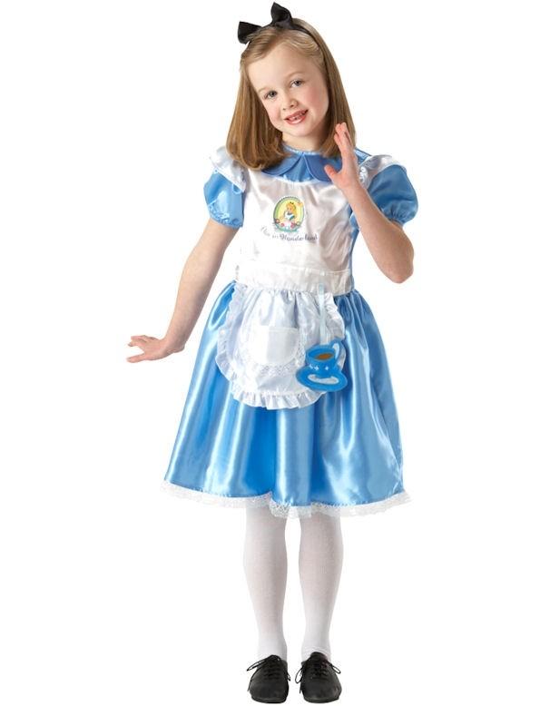 Girls Deluxe Alice in Wonderland Costume