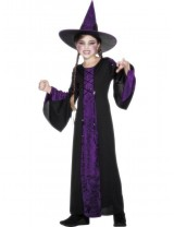 Bewitched Costume, Black and Purple