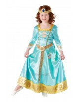 "Girls Deluxe ""Ornamental"" Merida Costume"