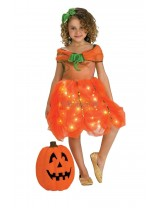 Girls Twinkle Pumpkin Princess Costume