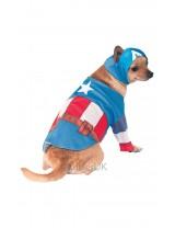 Captain America Dog Costume