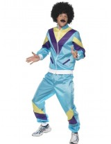 Mens 80's Height of Fashion Shell Suit Costume