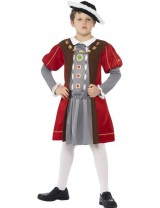 Boys Horrible Histories Henry VIII Costume