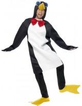 Penguin Costume in White and Black