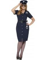 Ladies Curves NYC Cop Costume