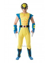 Mens Deluxe Wolverine Costume