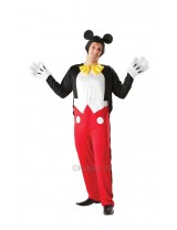 Mens Mickey Mouse Costume