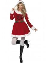 Red Miss Santa Costume