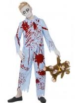 Zombie Pyjama Boy Costume