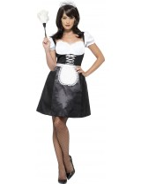 French Maid Costume with Dress