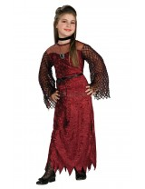 Girls Gothic Enchantress Costume