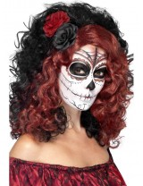 Ladies Day of the Dead Wig