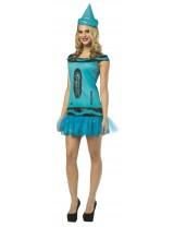 Ladies Crayola Glitz & Glitter Dress