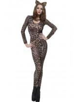 Cheetah Print Brown Bodysuit