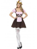 Ladies Tavern Girl Costume