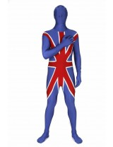 Union Jack Morphsuit Costume