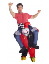 Jester Piggyback Costume Adult